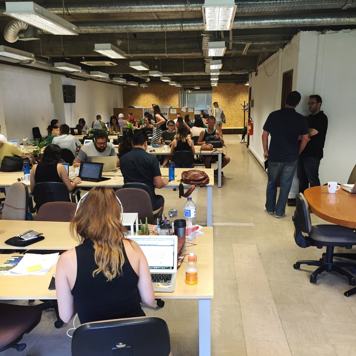 Our coworking space in Lisbon: Beta-i